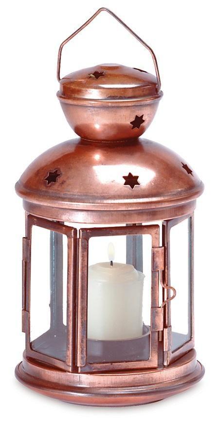 Lot 10 Star Cutout Lantern Copper Bronze Color Candleholder Wedding Centerpieces
