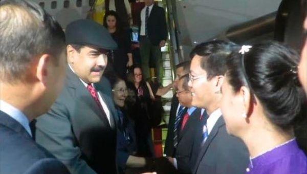 Presidente Maduro llegó a Vietnam donde se espera firme acuerdos en materia económica