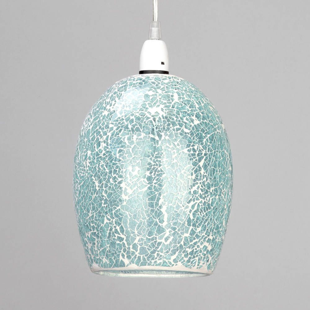 Tate Crackle Glass Easy To Fit Ceiling Light Shade Ceiling Lights Light Shades Ceiling Pendant
