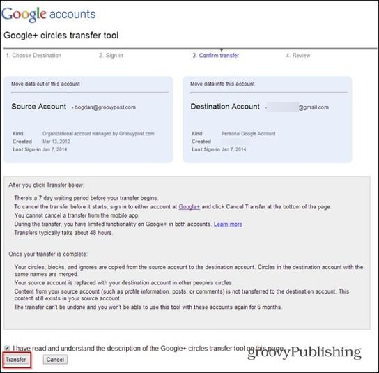 How To Merge Two Google+ Accounts