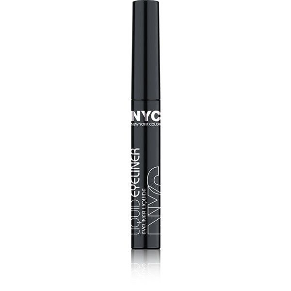 LIQUID EYELINER New York Color via Polyvore featuring beauty products, makeup, eye makeup, eyeliner, liquid eye liner and liquid eyeliner