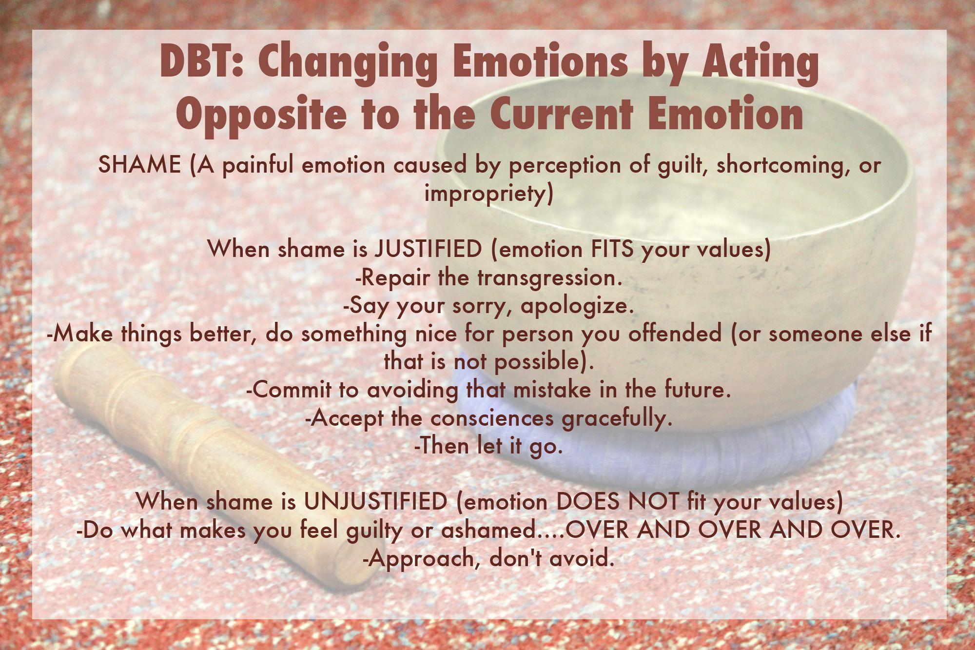 Dbt Emotionregulation Opposite Emotion