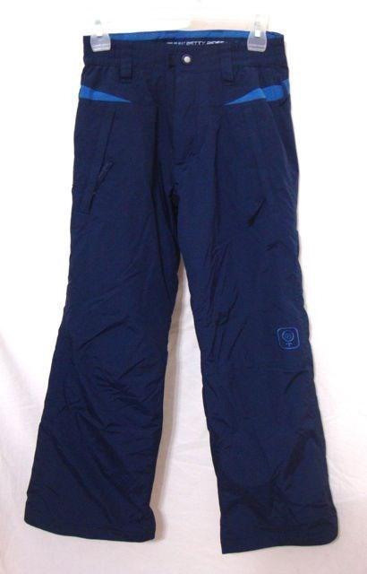 47.49$  Watch now - http://vibaj.justgood.pw/vig/item.php?t=7m2j7d8147 - Betty Rides Snow Board Pants Insulated Rocker Blue Ski Elastic Women XS CUTE
