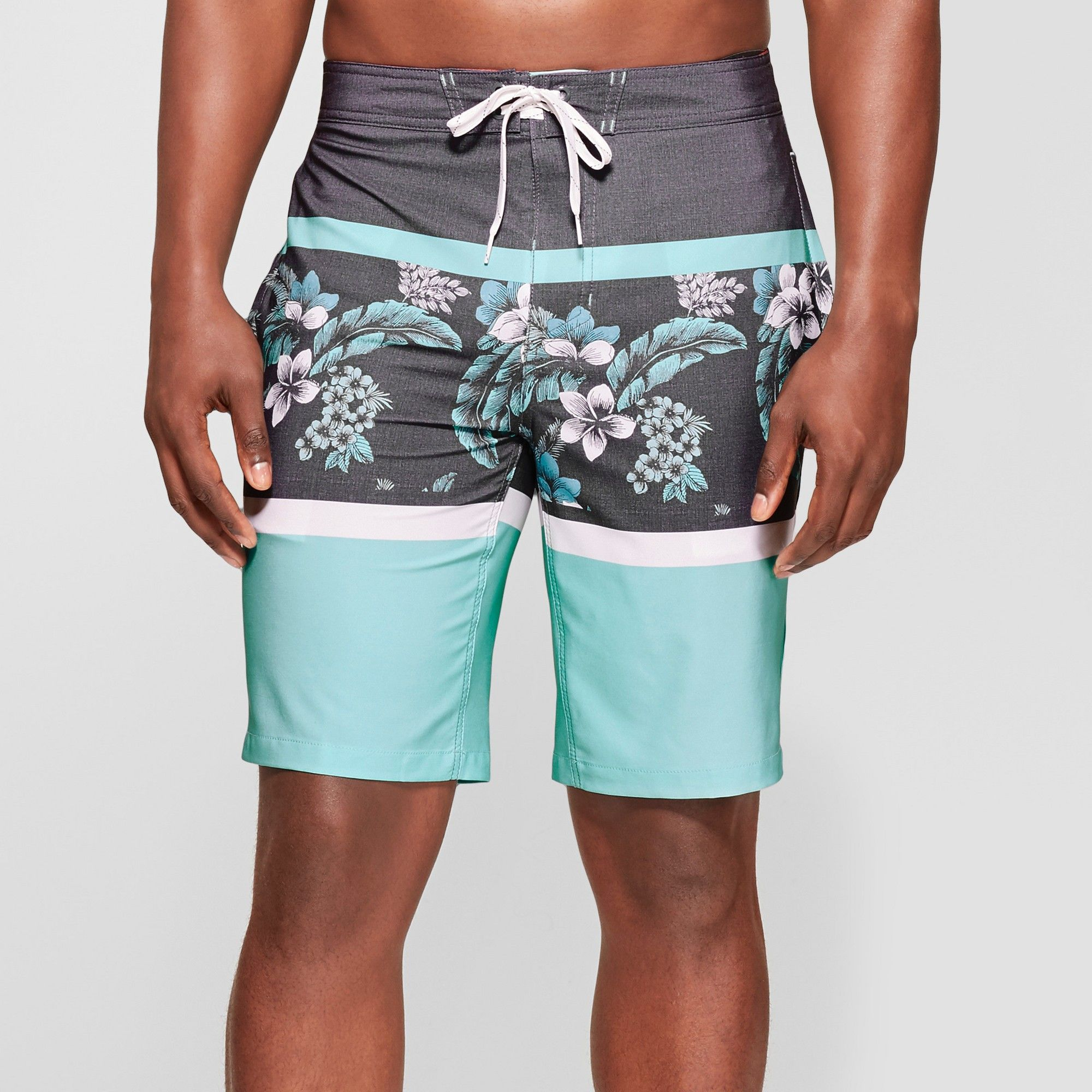 22286451 Men's 10 Floridian Board Shorts - Goodfellow & Co Blue 40 | Products ...