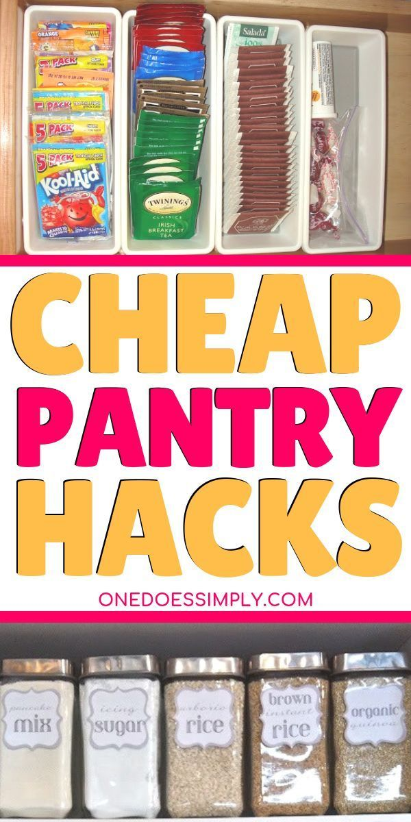 10 Budget-Friendly Pantry Organization Ideas That Looks Impressive #pantryorganizationideas