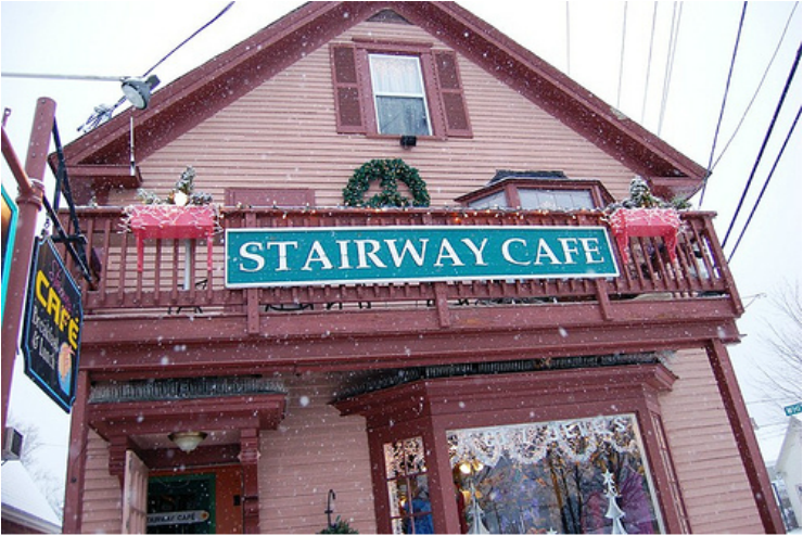 Stairway Cafe Is One Of The Best North Conway Restaurants
