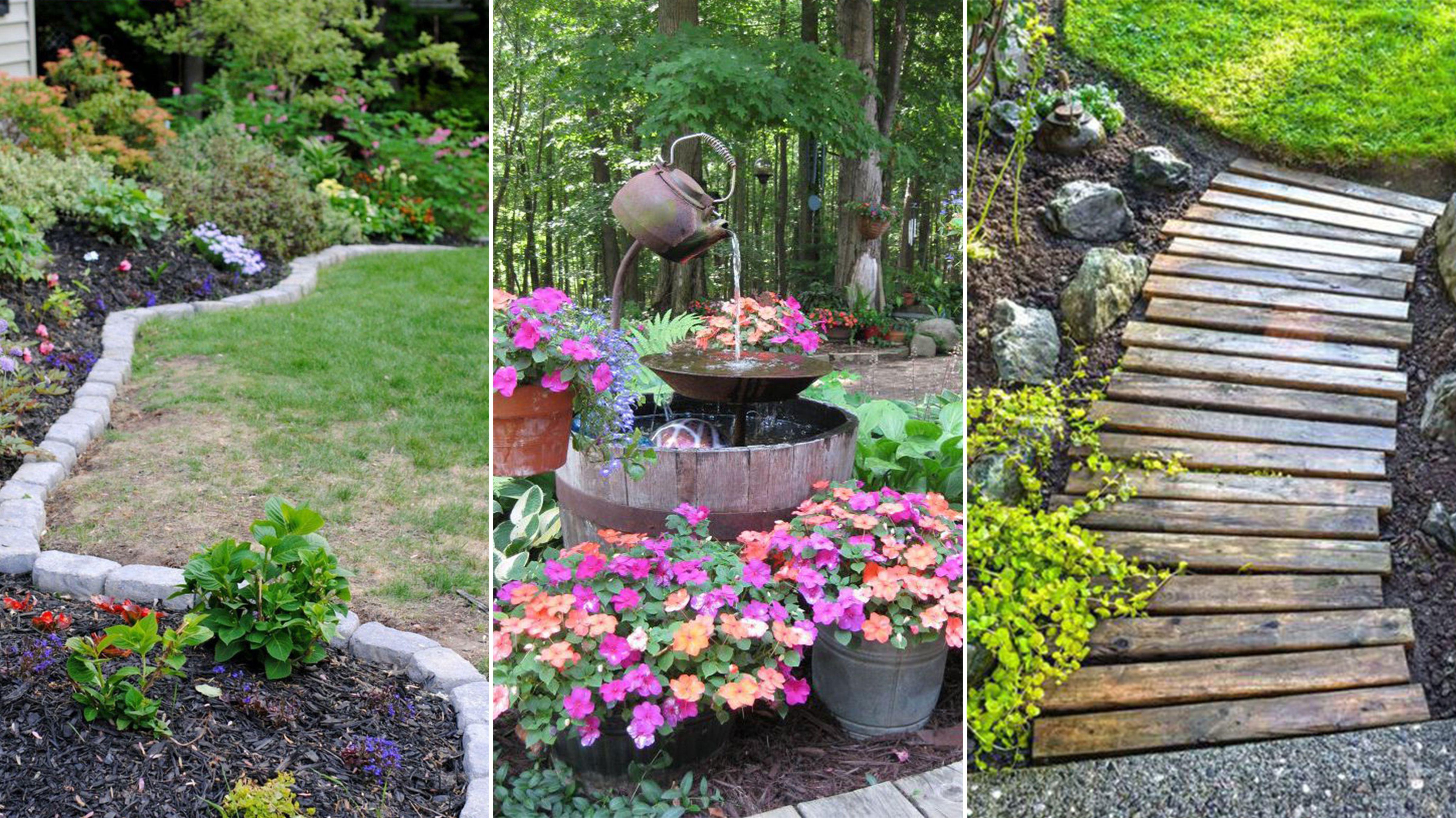 Awesome Simple Tips To Maintenance Your Garden Cheap Landscaping Ideas Garden Ideas Cheap Small Backyard Landscaping