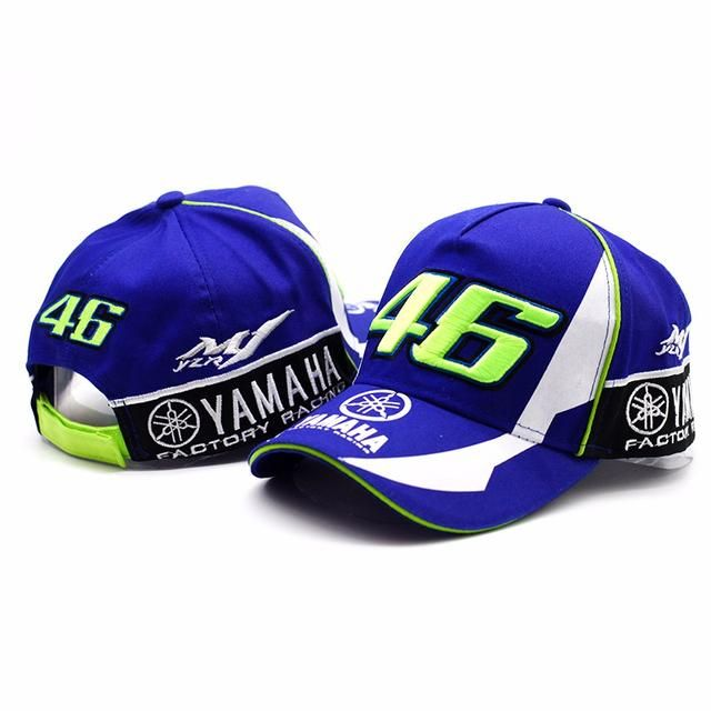 68ee9c9fecfa4 ... here you go 🙌 2017 High Quality MOTO GP 46 Motorcycle 3D Embroidered  F1 Racing Cap Men Women Snapback Caps Rossi VR46 Baseball Cap YAMAHA Hats  ...