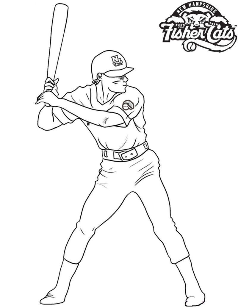 Cubs Baseball Coloring Pages Baseball Coloring Pages Baseball Catcher Sports Coloring Pages