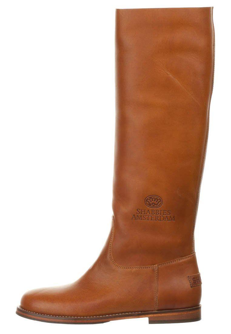 MINERVA - Stiefel - cognac Shabbies Amsterdam   shoes   Zapatos ... 53759b9243