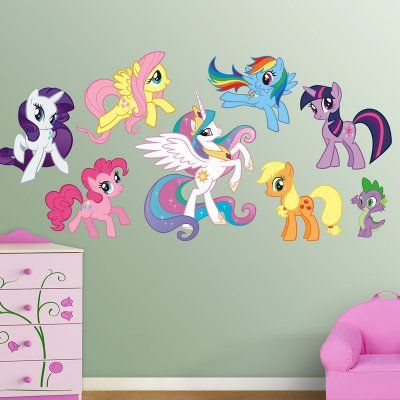 My Little Pony Collection Wall Decals