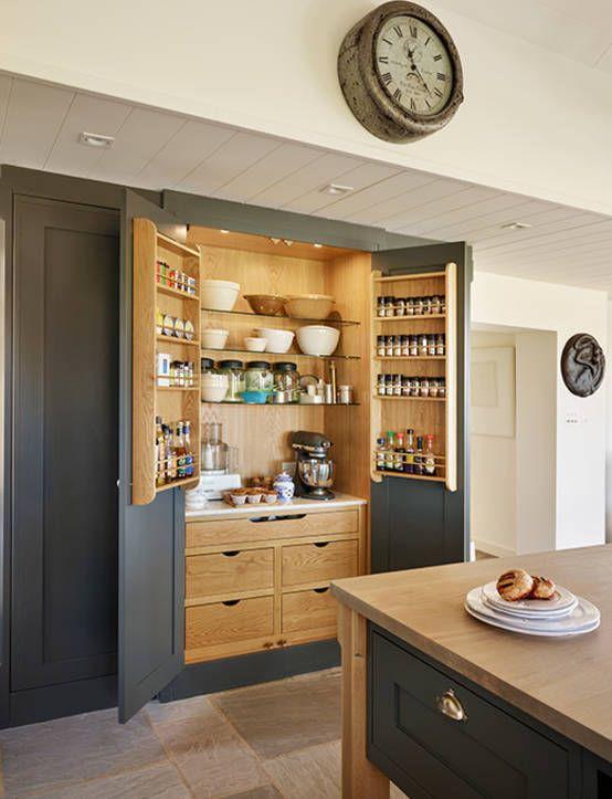Cocinas pequeñas: ¡6 GRANDES tips para ahorrar espacio! | Pinterest ...