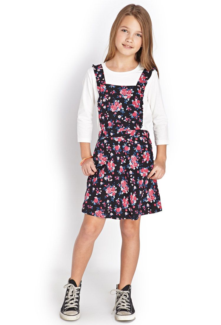 88d1385ab804 Subtle Sprint Overall Dress (Kids)