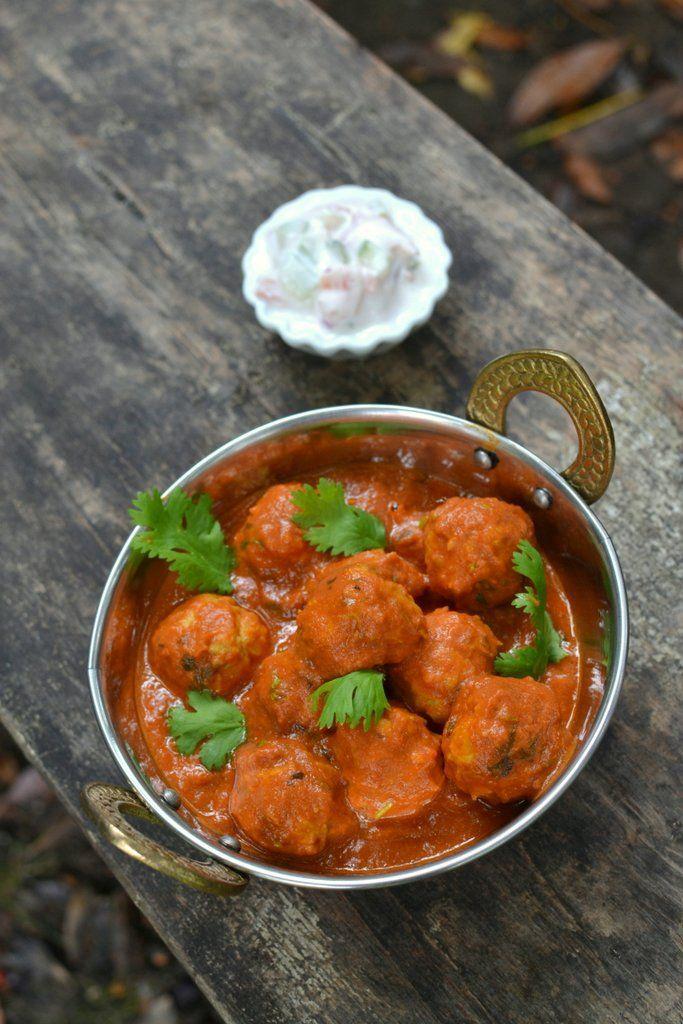 Albondigas Opskrift hosting friday fiesta: murgh kofta curry | opskrift | projekter, jeg