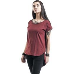Red by Emp Long Back T-Shirt Red by Emp