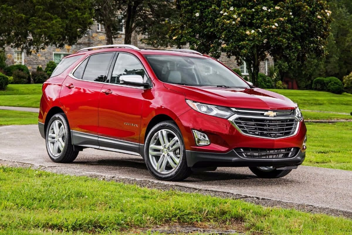 The car that has it all. Chevrolet Equinox Chevy