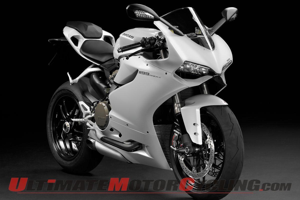 2013 Ducati 1199 Panigale In Arctic White Ducati 1199