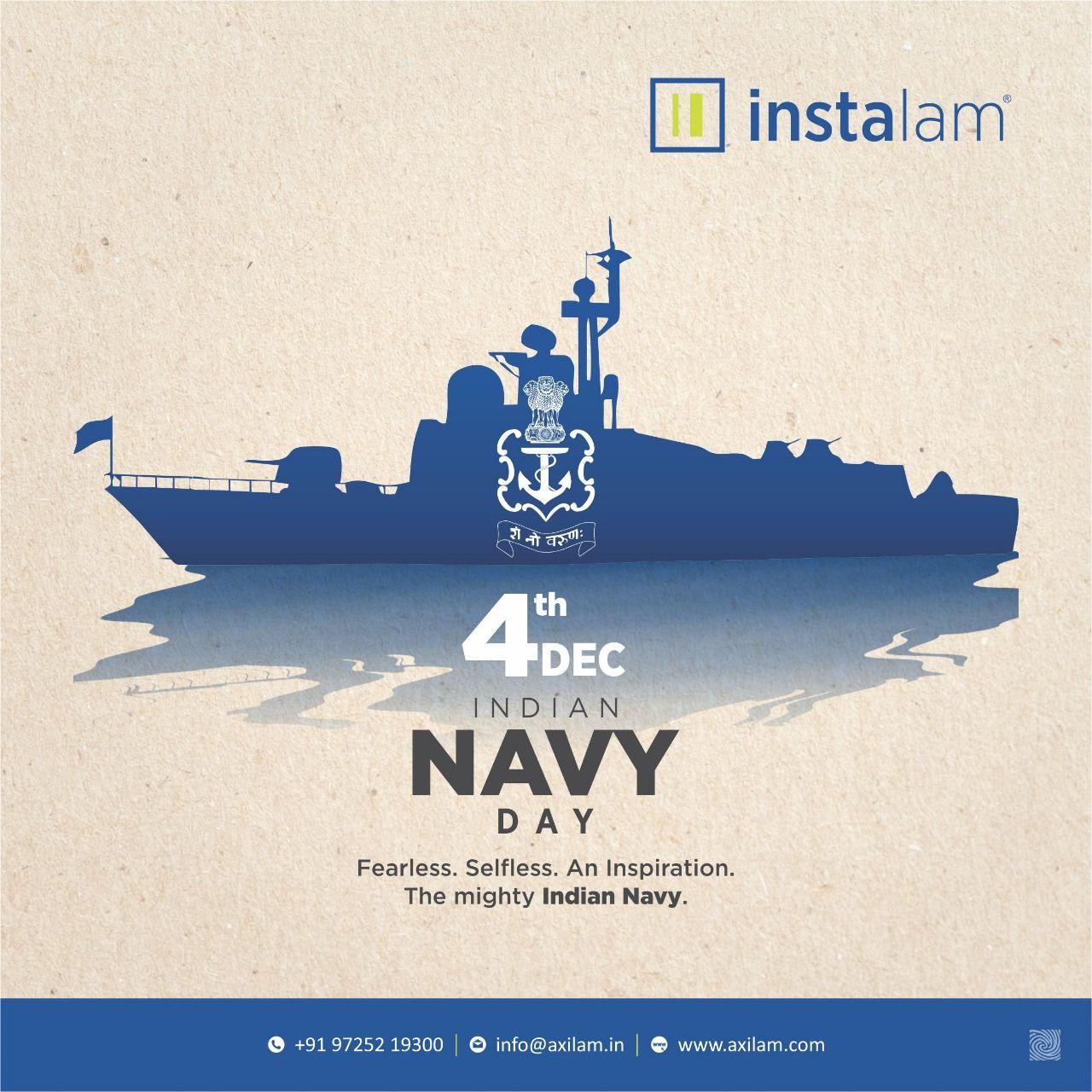 Axilam Laminates Indian Navy Day Navy Day Indian Navy