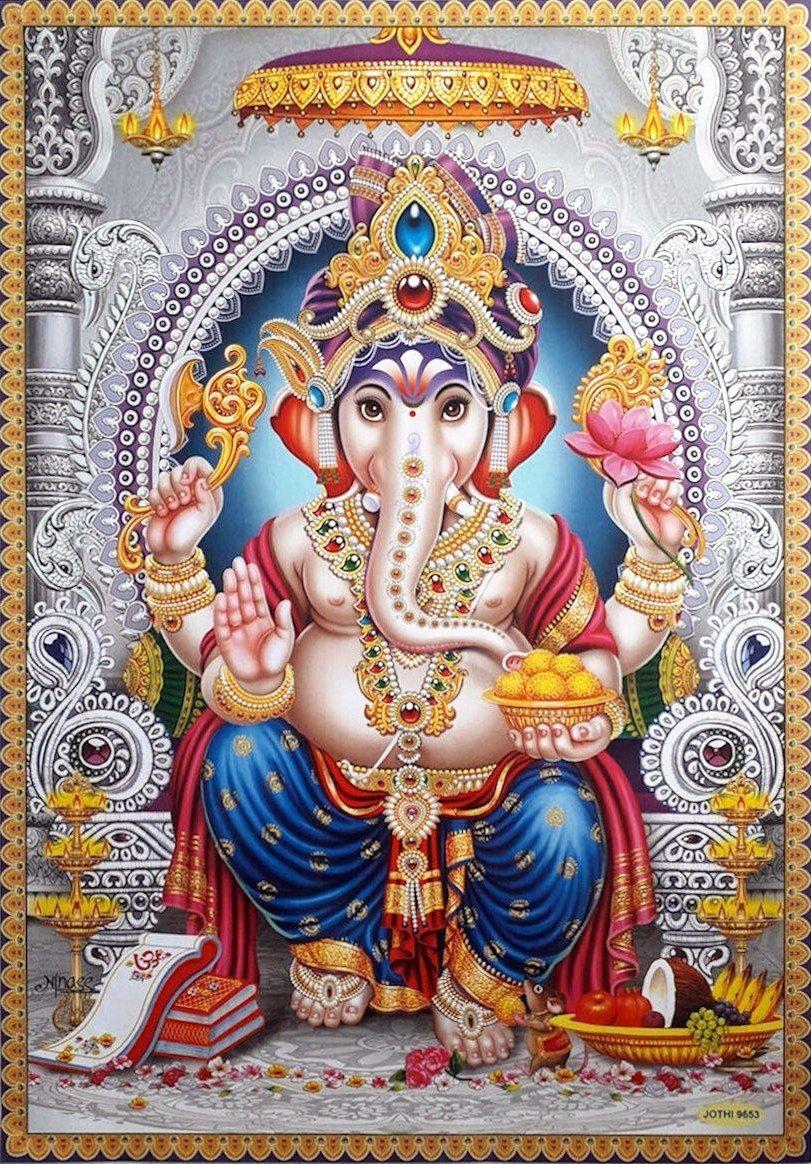 Lord Ganesha (via eBay Indian_ash) in 2020 Lord ganesha
