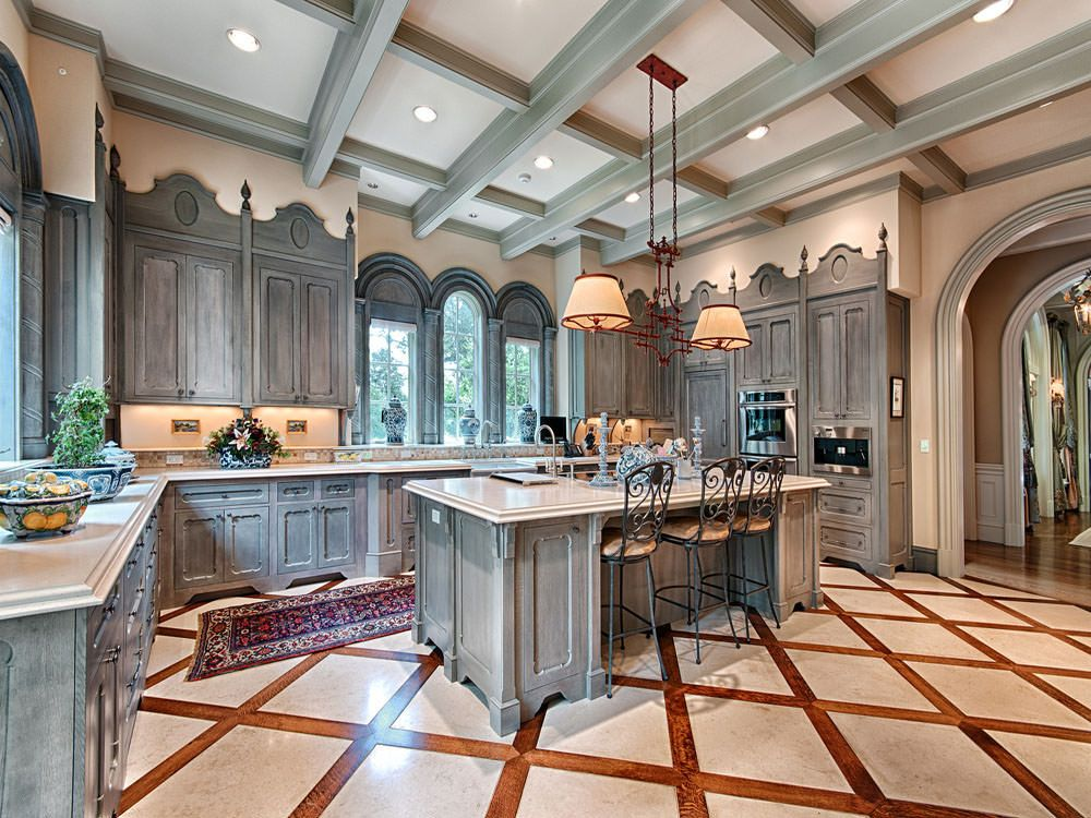 Luxury Mansion Kitchens: French Chateau In North Carolina, 24 Browntown Rd