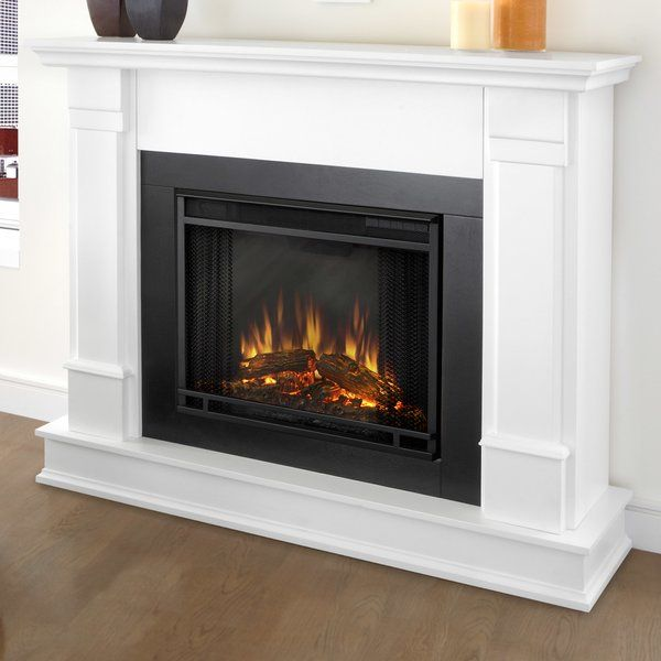 Silverton Electric Fireplace White Electric Fireplace Electric