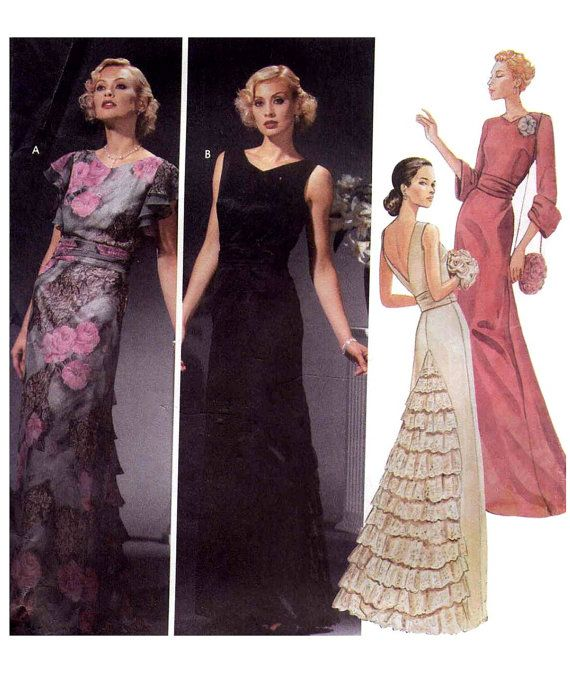 Dress Patterns for Evening Wear