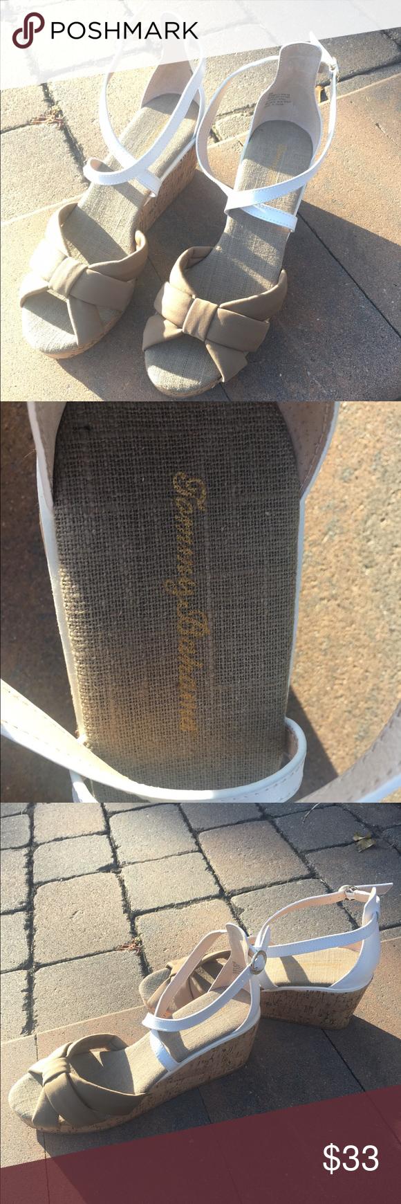 NWT Tommy Bahama Wedges #nwt #tommybahama #wedges size 8 Tommy Bahama Shoes Wedges