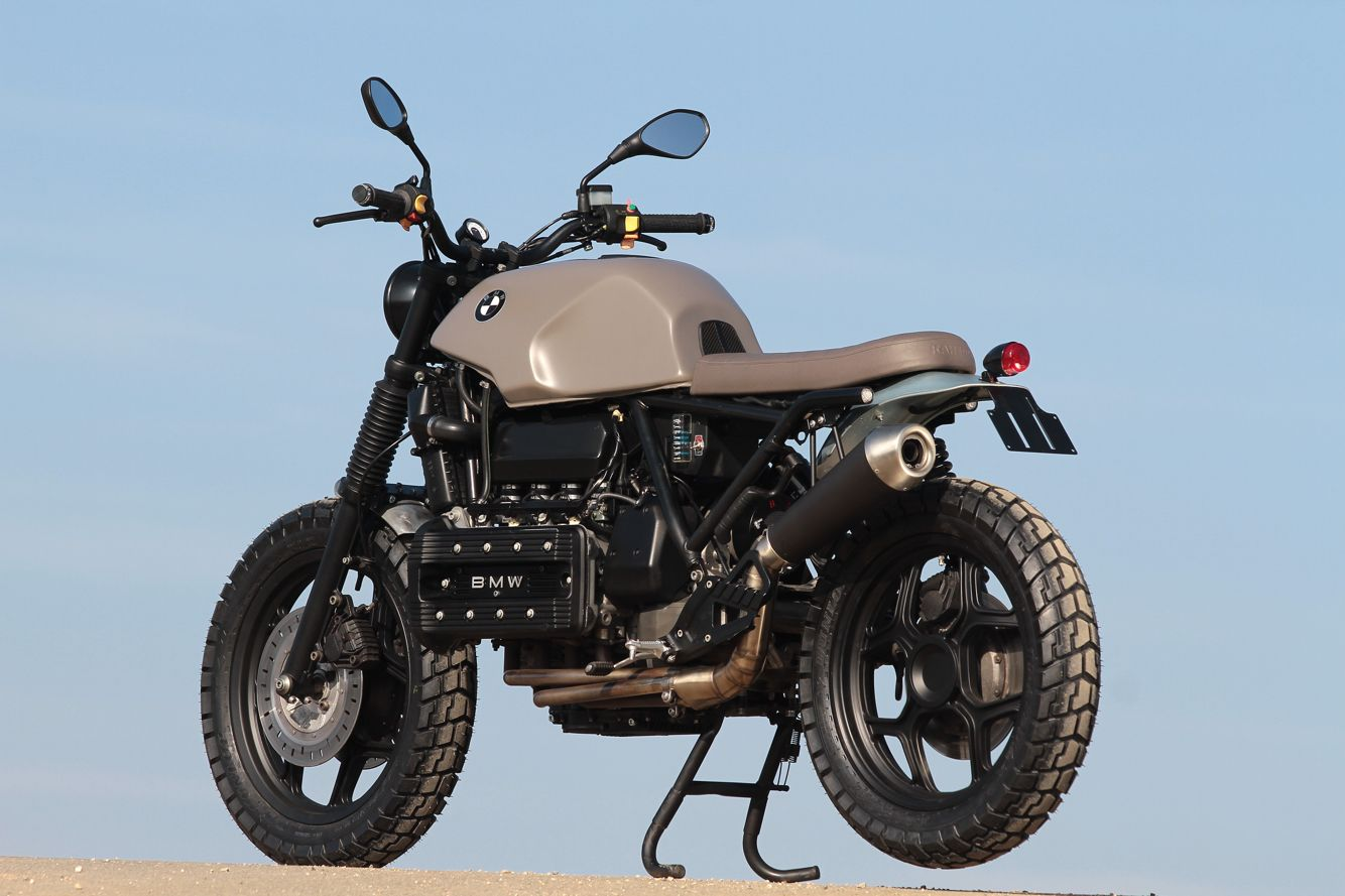 bmw k100 scrambler custom motorcycles projects 1. Black Bedroom Furniture Sets. Home Design Ideas