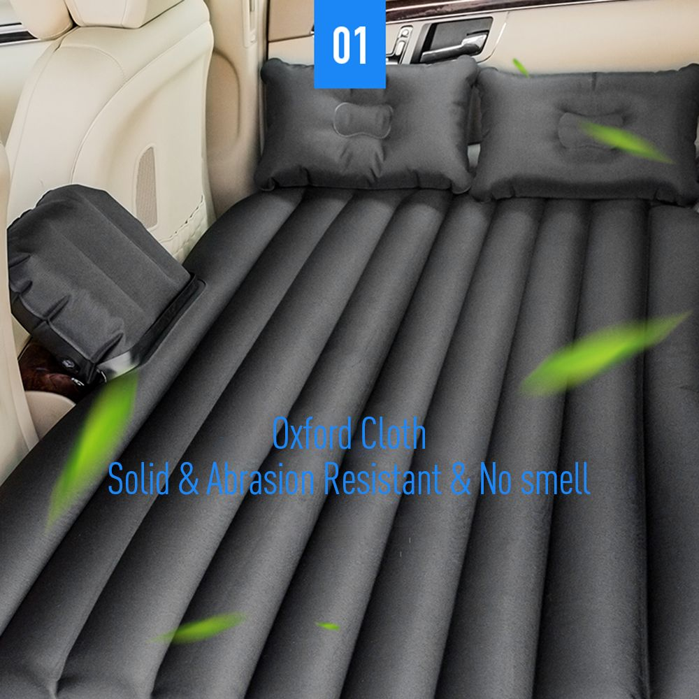 Car Travel Inflatable Mattress Air Bed Cushion Portable Camping