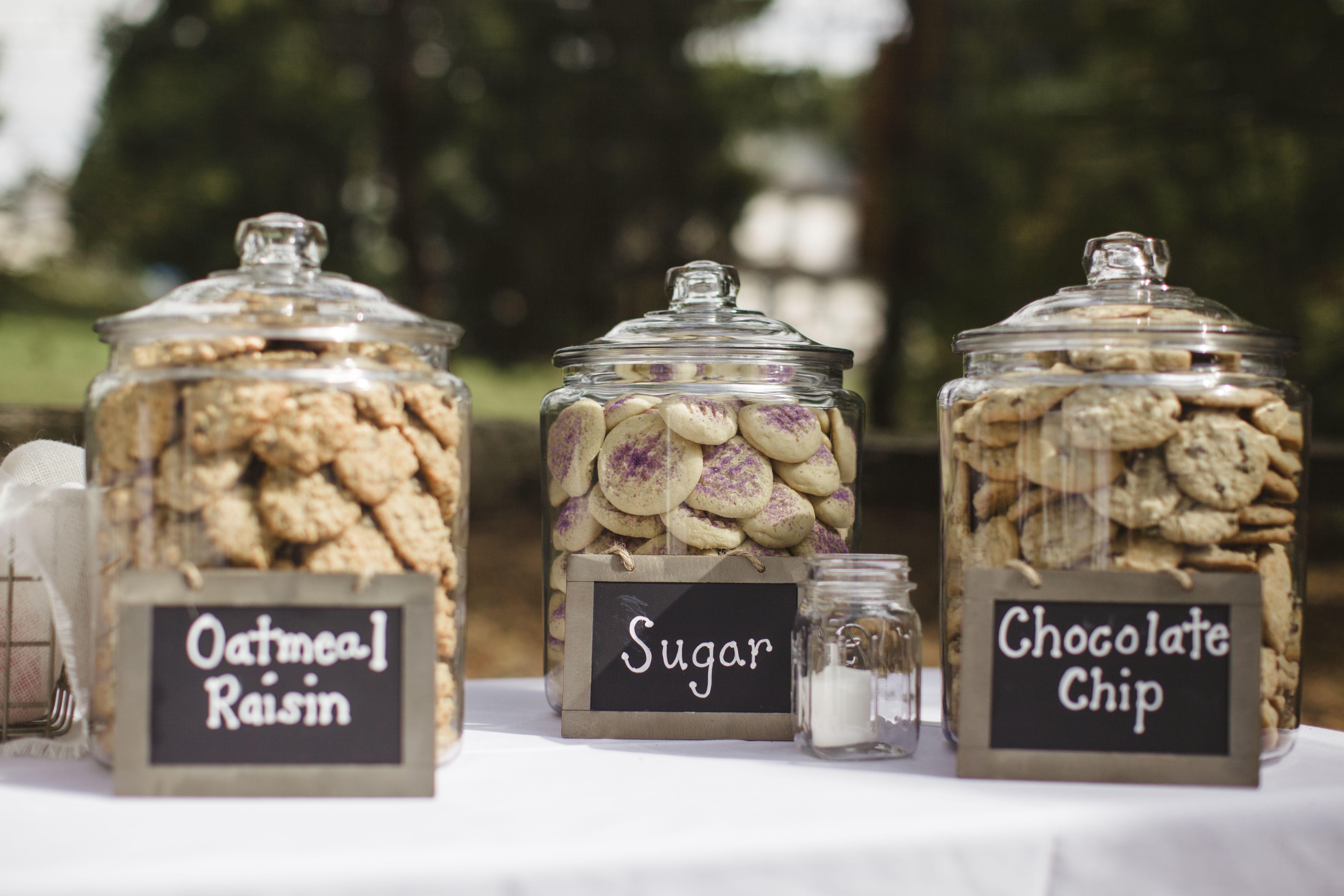 Cookie Jar Wedding Favor Station Wedding Ideas Pinterest