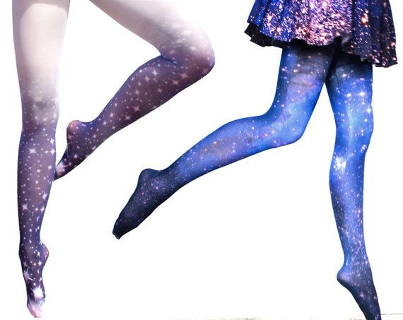SPECIAL 2X Tight Set Galaxy Tights and Stardust by Shadowplaynyc, $48.00