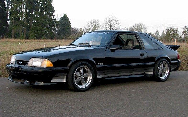 1989 Saleen Ford Mustang Fox Body Mustang Saleen Mustang Fox Mustang
