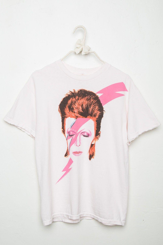 fd67e272 Brandy ♥ Melville | David Bowie Tee - Graphics Bowie Shirt, David Bowie T  Shirt