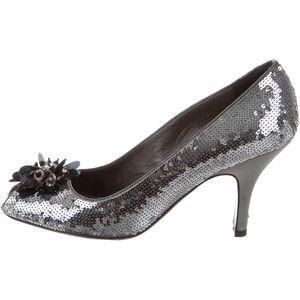 Pre-owned - Glitter heels Prada j7O6E