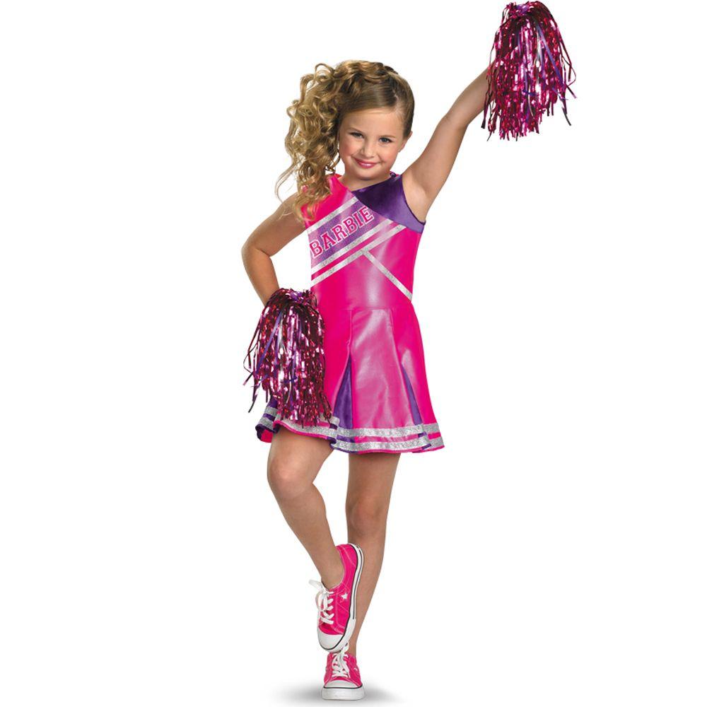 Girls Cheerleader Outfit Kids Halloween Costume | Halloween ...