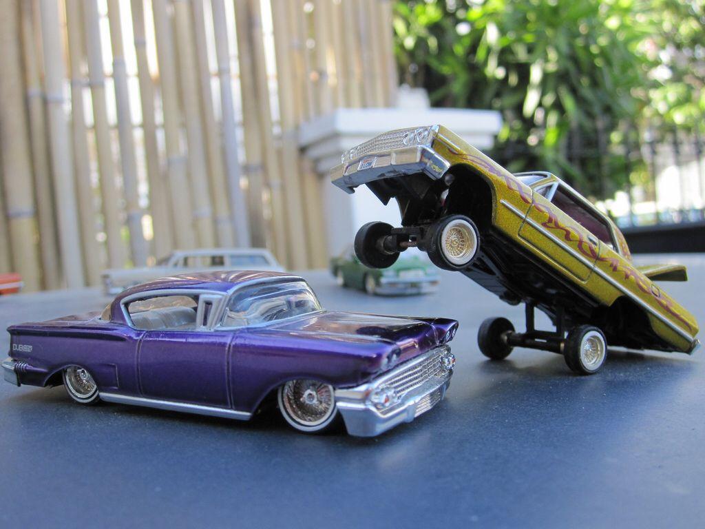 1 64 1958 chevrolet impala lowrider jada toys and 1 64 1963 chevrolet impala lowrider model carschevrolet
