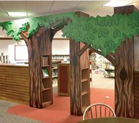 furniture for libraries. Trees Furniture For Libraries