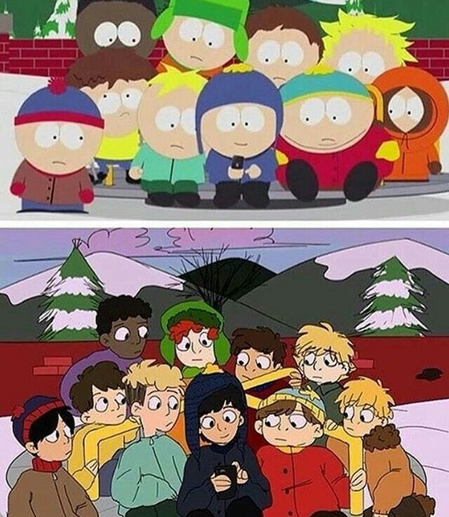 Fanart South Park South Park Memes South Park Characters South Park Anime