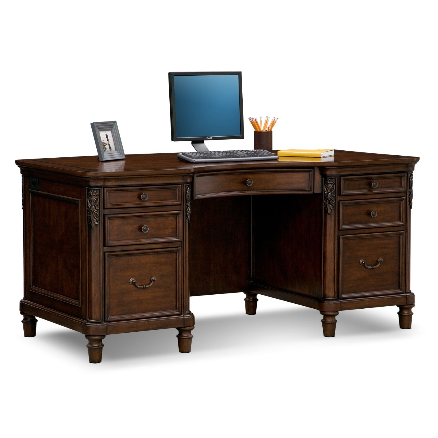 home office furniture cherry. Wonderful Home 99 Executive Cherry Desk  Home Office Furniture Set Check More At Http With R