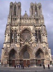 Reims Cathedral, Reims, France | Architecture Wonders | Pinterest ...