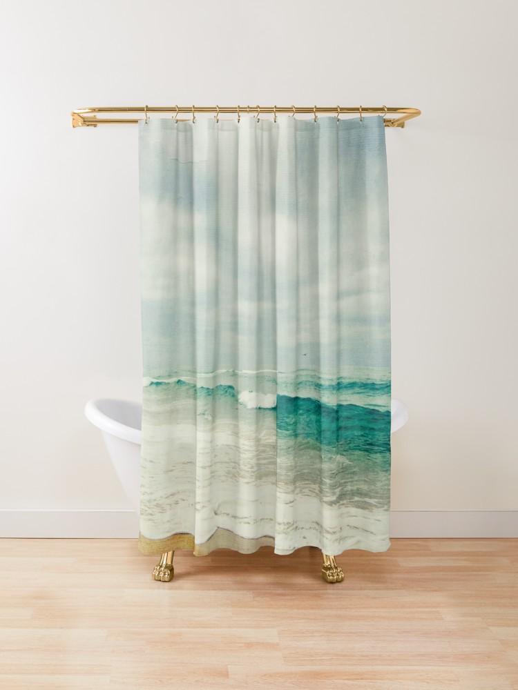 Wave Ii Shower Curtain By Dirk Wuestenhagen Designer Shower