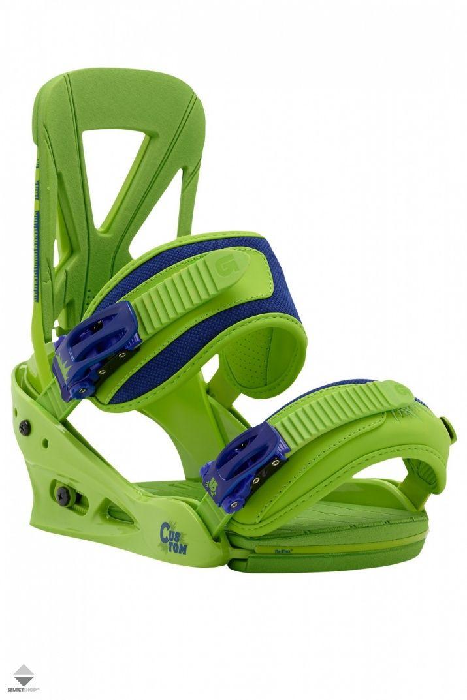 Wiazania Snowboardowe Burton Custom Grasland 10542101311 Burton Custom Snowboard Burton Custom Snowboard Bindings