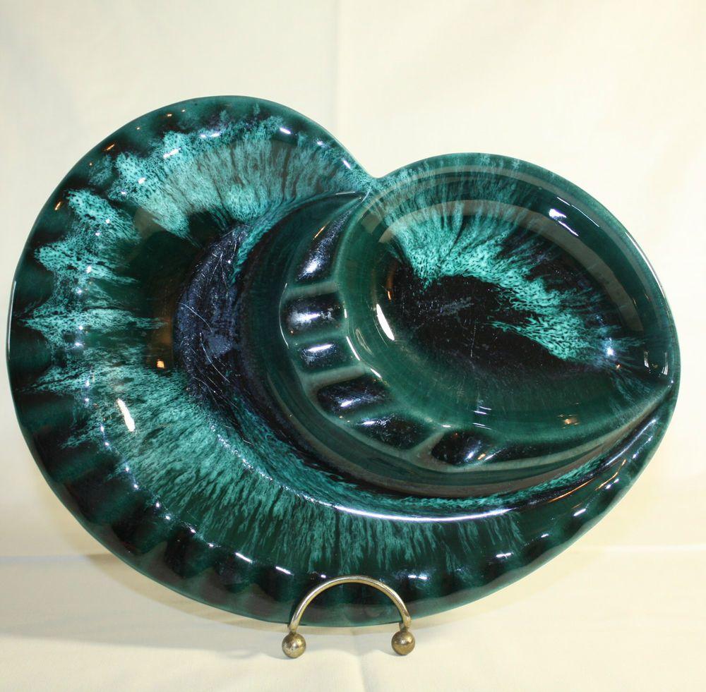 Blue Mountain Ashtray Canada Pottery Large 10\
