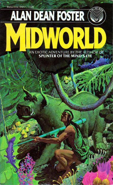 Alan Dean Foster Midworld Sciencefiction Sf Pulp Fiction Book