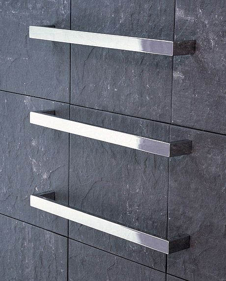 Rogerseller Fold Single 750 Heated Towel Rails: Siroco Modular Rails