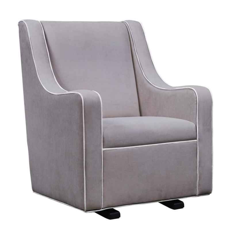 Bubkess Nursing Chair Pewter