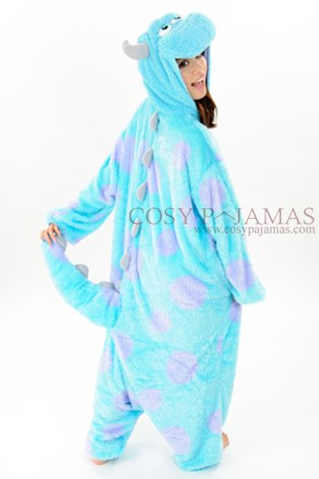 93969077 Monsters Inc. Sulley Onesie Kigurumi Costume | Disney fun | Pijama ...