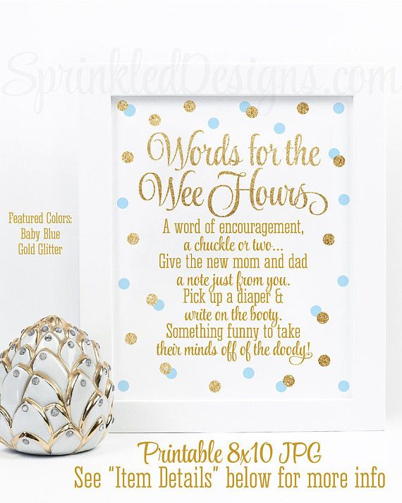 Baby Shower Games Words For The Wee Hours Words Of Wisdom Late