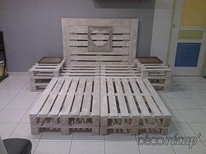 lit en palette for the home pinterest lit en palette palette et lits. Black Bedroom Furniture Sets. Home Design Ideas