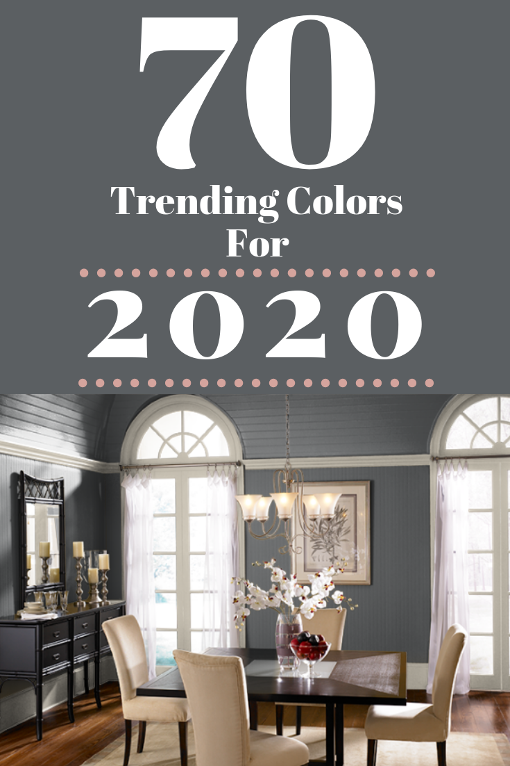 70 Amazing Colors 2020 Forecast Color Trends For The Home Paint Colors For Living Room Trending Decor Home Decor Trends